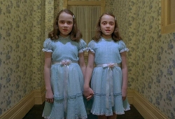 The sinister twins from The Shining