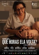 QUE HORAS ELA VOLTA?