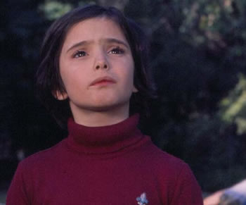 Ana Torrent en Cría Cuervos